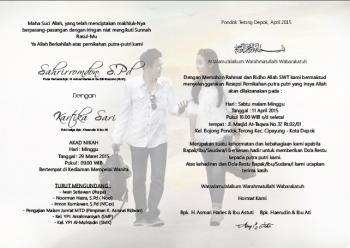 Cara Membuat Undangan Pernikahan Simple Elegan Kompasianacom