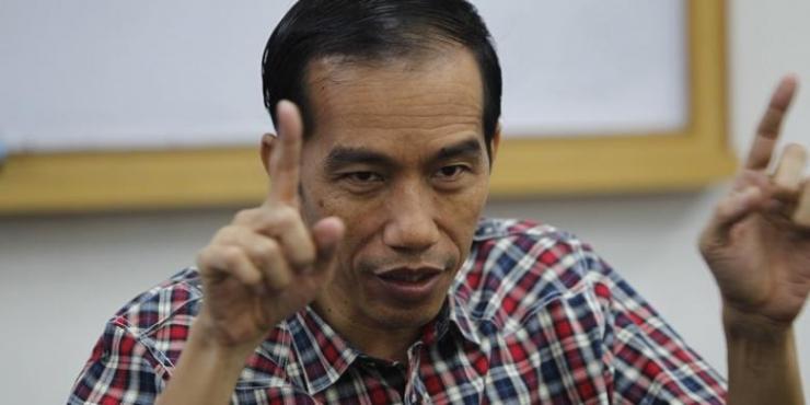 Joko Widodo atau akrab dipanggil Jokowi, Gubernur DKI yang juga merupakan Capres usungan PDI P belum lama ini mendapat serangan isu SARA dan berita HOAX tentang kematiannya. (KOMPAS.com/Adrian Mozes)