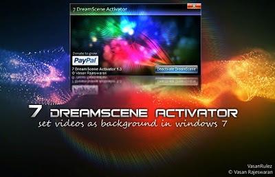 Mempercantik Windows 7 Dengan Aplikasi 1.Dreamscene Activator Aplikasi ini  bisa menampilkan video sebagai wallpaper desktop kamu. 992ccdda72