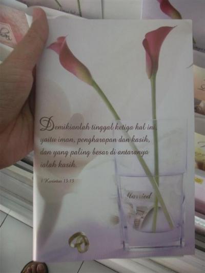 contoh cover buku misa pernikahan koran langganan