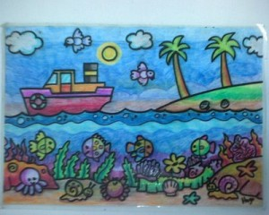 Menggambar Pemandangan Oleh Princess E Diary Kompasianacom