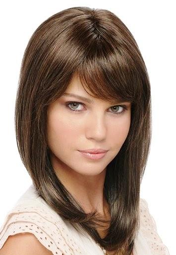 Potongan Rambut  Segi  Sebahu Katalog Model  Rambut  2019