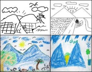 Ada Apa Di Balik Gambar Khas Anak Indonesia Kompasiana Com