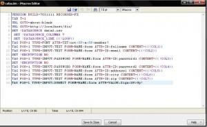 Input Banyak Data dengan Mudah ke Database dengan iMacros