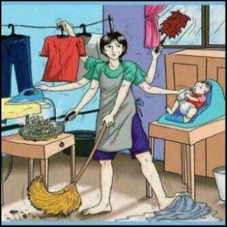 Tugas Ibu Rumah Tangga Sehari Hari Guru Ilmu Sosial
