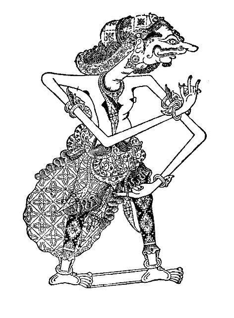 Wayang Kulit Shadow Puppets Part 8 Mahabharata Kompasiana Com
