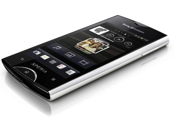 XPeria Ray, salah satu smartphone berbasis Android (sumber foto : techradar.com)
