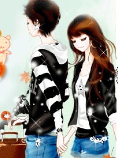 98 Gambar Wallpaper Animasi Romantis HD
