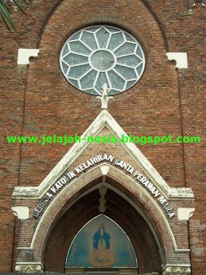 Gereja Santa Perawan Maria Yang Indah Di Surabaya Kompasiana Com