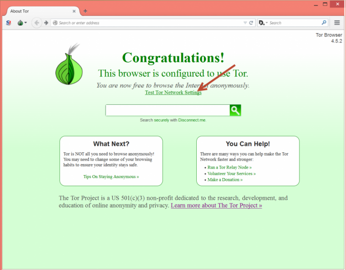 TOR Browser Siap Digunakan