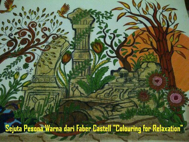 Faber Castell Colouring Relaxation Obat Anti Galau Urban Kota Alat