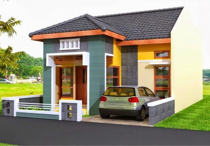 Cat Exterior Rumah Minimalis | Desain Rumah Minimalis 2019