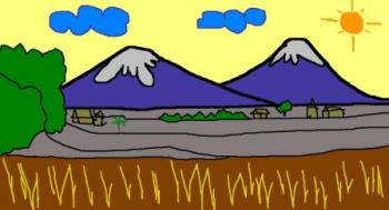950 Gambar Pemandangan Gunung Simpel Terbaru