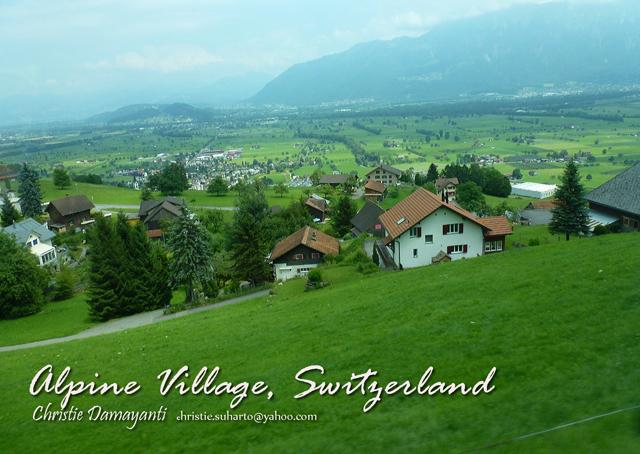 Pemandangan Swiss Cantik Indonesia Juga Tetapi Oleh