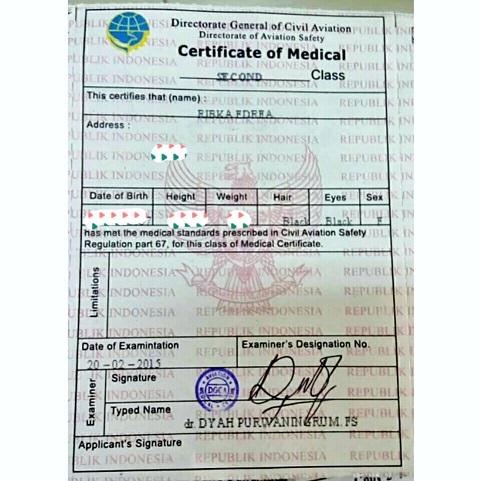 Sertifikat Medical