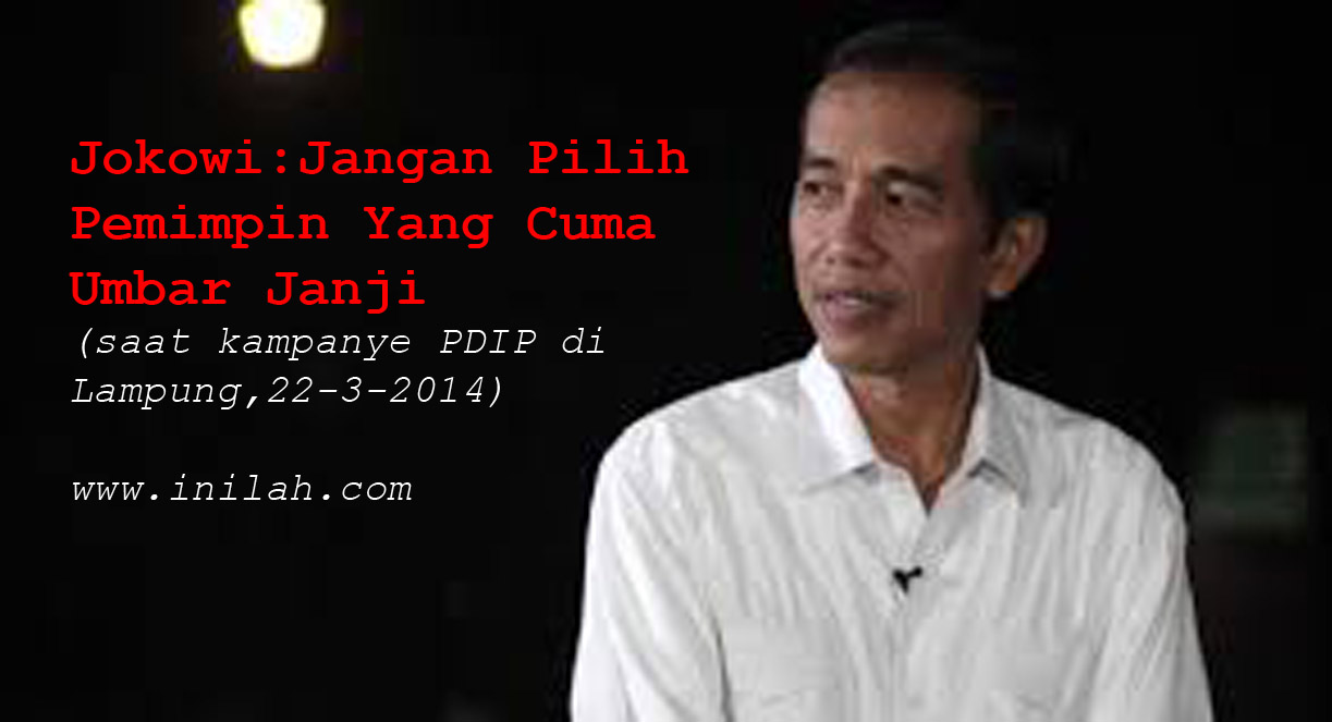 Sah-Sah Saja Jikalau Pak Jokowi Lakukan Nepotisme Untuk Relawannya