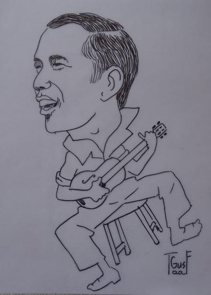 Inilah Karikaturku Tentang Prabowo Dan Jokowi Oleh Gustaaf Kusno